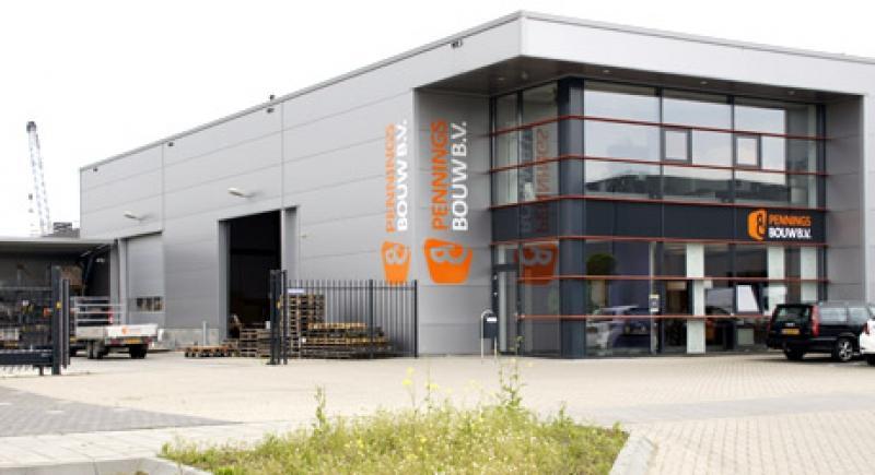 Nieuwbouw bedrijfpand Pennings Bouw BV