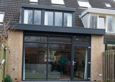 Aanbouw, dakkapel en kozijnen Den Bosch