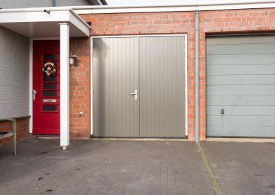 wijziging garagedeur